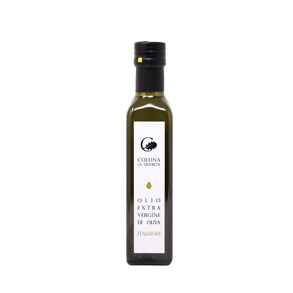 Bottiglia da 250 ml di olio extravergine di oliva di Colllina la Quercia
