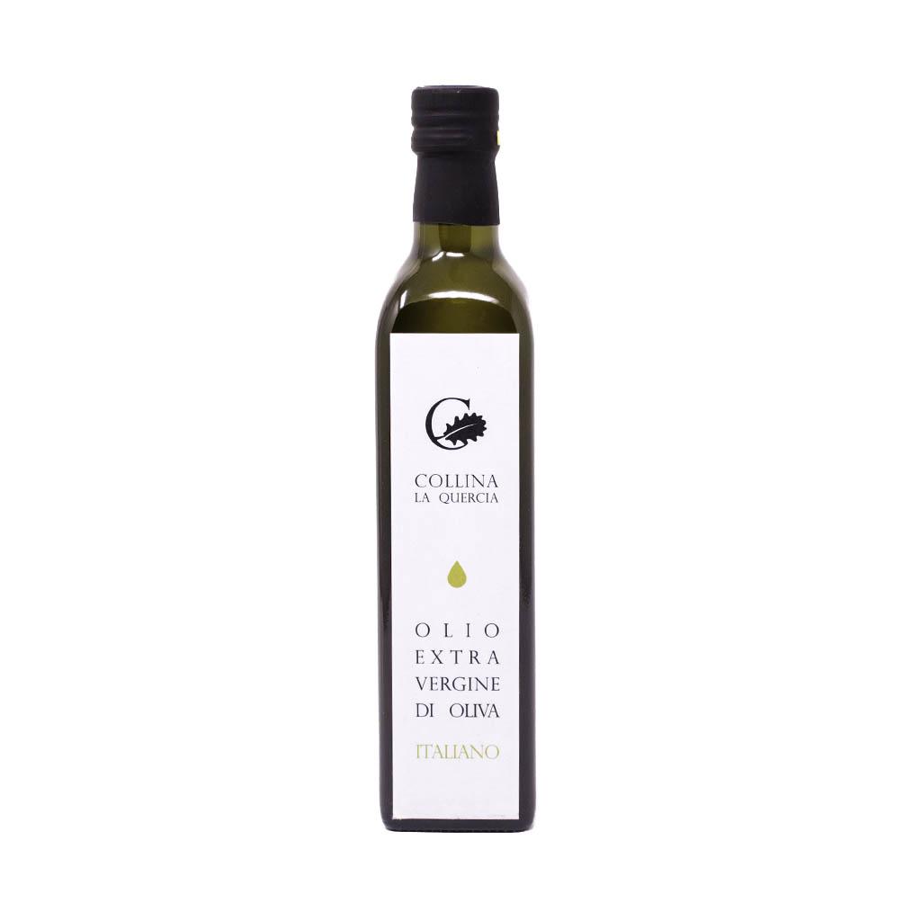 Bottiglia da 500 ml di olio extravergine di oliva di Colllina la Quercia