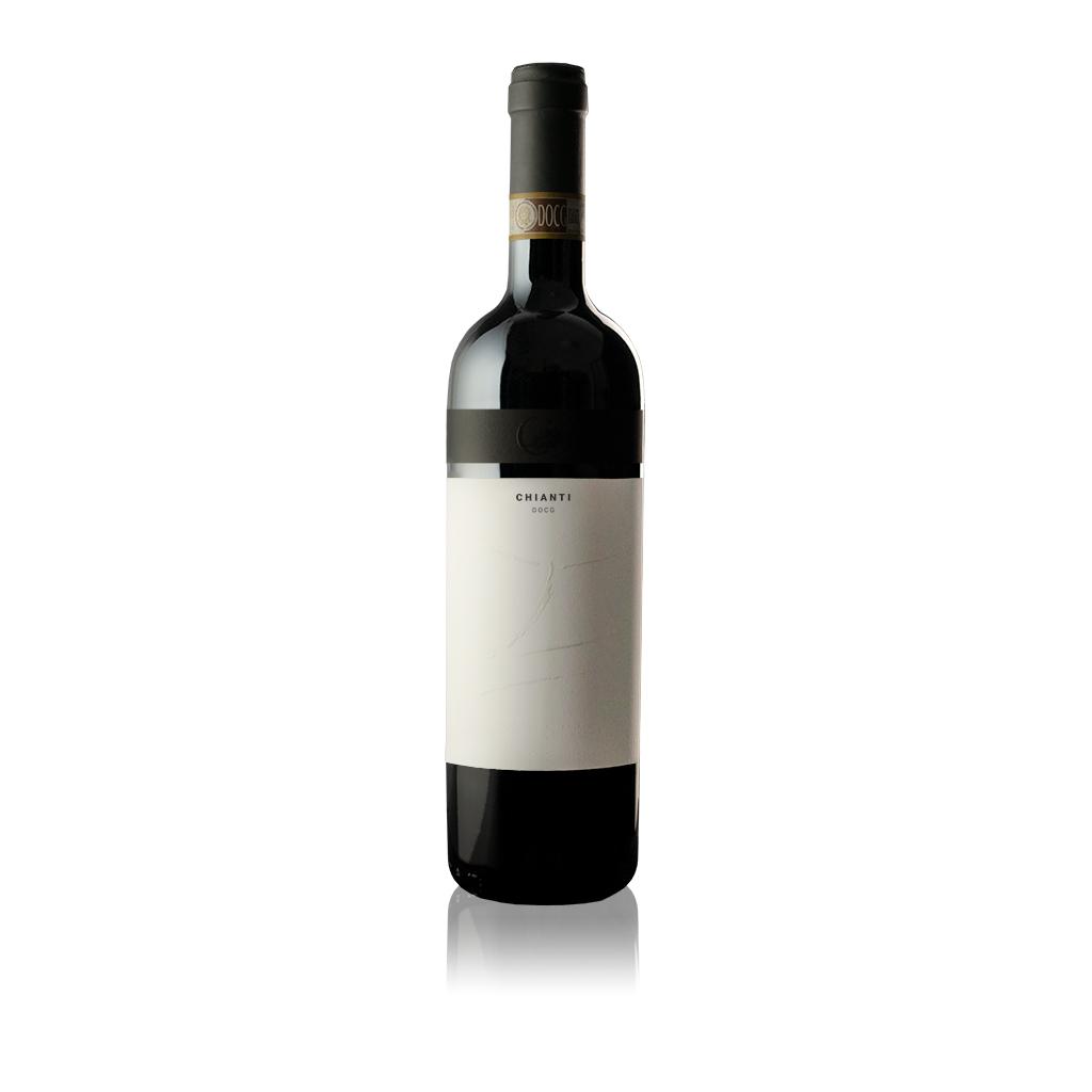 Bottiglia di vino Chianti DOCG dell'Azienda Agricola Collina la Quercia