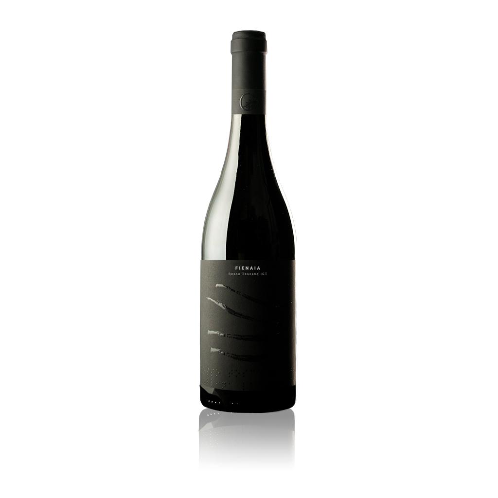 """Bottiglia di vino Toscana Rosso IGT """"Fienaia"""" dell'Azienda Agricola Collina la Quercia"""