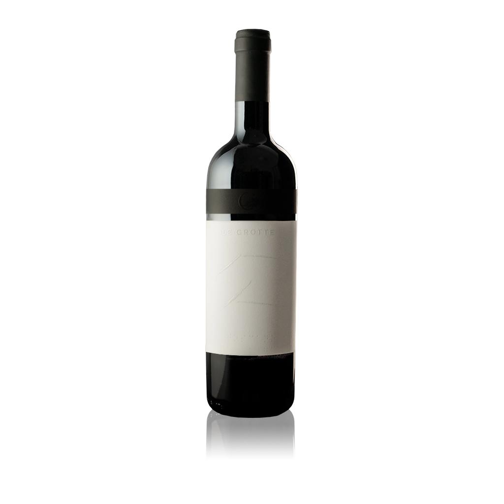 """Bottiglia di vino Toscana Rosso IGT """"Grotte"""" dell'Azienda Agricola Collina la Quercia"""